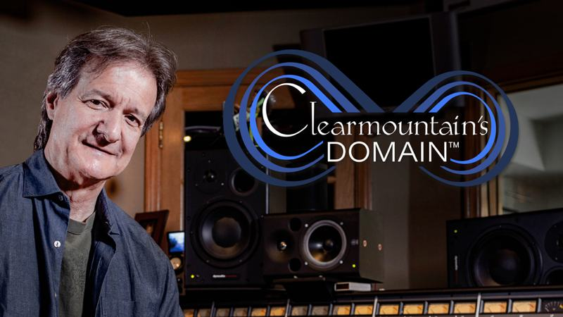 Bob Clearmountain「Clearmountain's Domain」ワイド画像